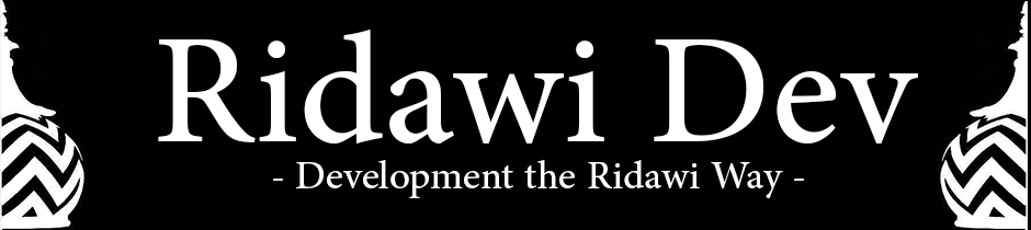 Ridawi Dev Banner